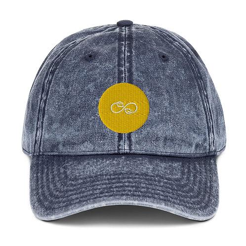 Distressed Infinity Farmer's Cap