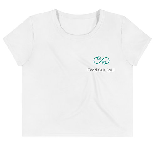 Leaf it to Me Crop Tee