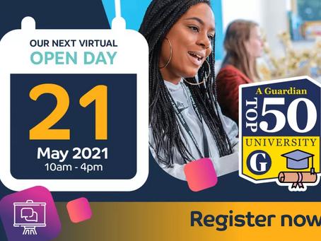 Virtual Open Day (21/05/21)