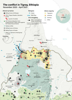 The Tigray Conflict, Ethiopia 2021