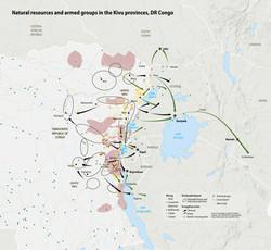 DR Congo smuggling routes