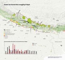 Rhino smuggling in Nepal