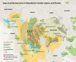 Macedonia protected areas threats