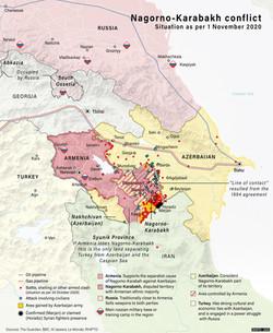 Nagorno-Karabakh Conflict, November 2020
