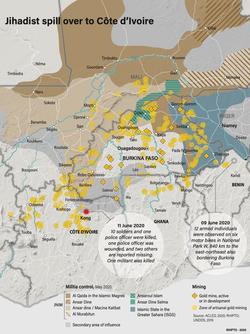 Jihadist spill over to Côte d'Ivoire