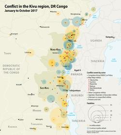 Conflict in the Kivu region, 2017