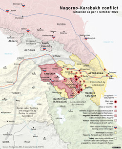 Nagorno-Karabakh Conflict, October 2020