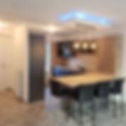 Parquet Peinture Papiers Peints Carrelage Salle de bains Douche à l'italienne Terrasse décoration intérieure et extérieure Cloisons Placo plâtre Douche à l'italienne agencement Cuisine