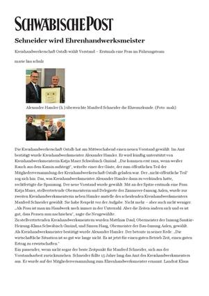 2014 Ehrenhandwerksmeister