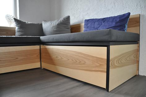 Sofa aus Kernesche, Bildrechte: Hannes Schneider