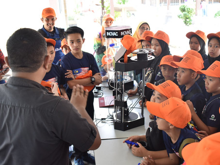 Students celebrate Malaysia Day with Environmental Education Programme by Manjung Municipal Council