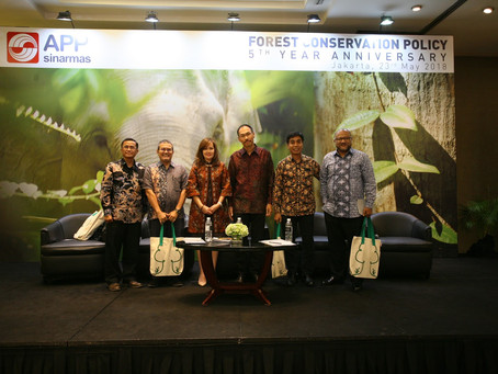 Asia Pulp & Paper Marks 5th Anniversary of its Forest Conservation Policy