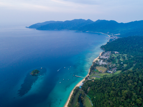 Tioman receives a massive clean-up through help from volunteers