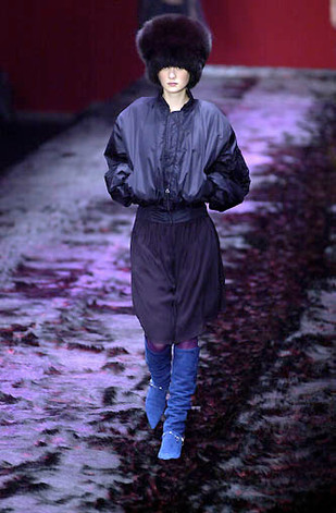 Nina Ricci. «Venus à la fourrure». Couture sportswear. 2002