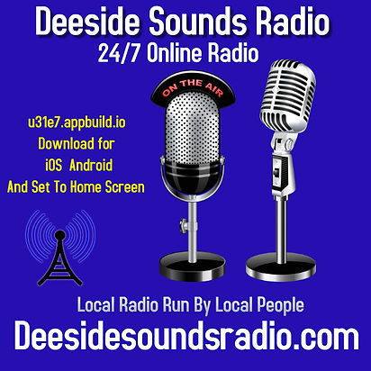Deeside Sounds Logo - Made with PosterMy