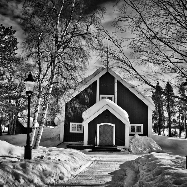 Arctic Church, Lapland, Sweden