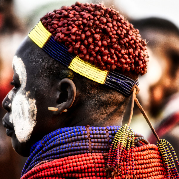 Beads and Necklaces, Omo Valley, Southern Ethiopia
