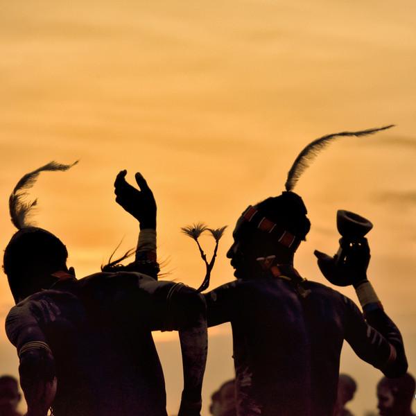 Kara Tribe Dance, Omo Valley, Southern Ethiopia