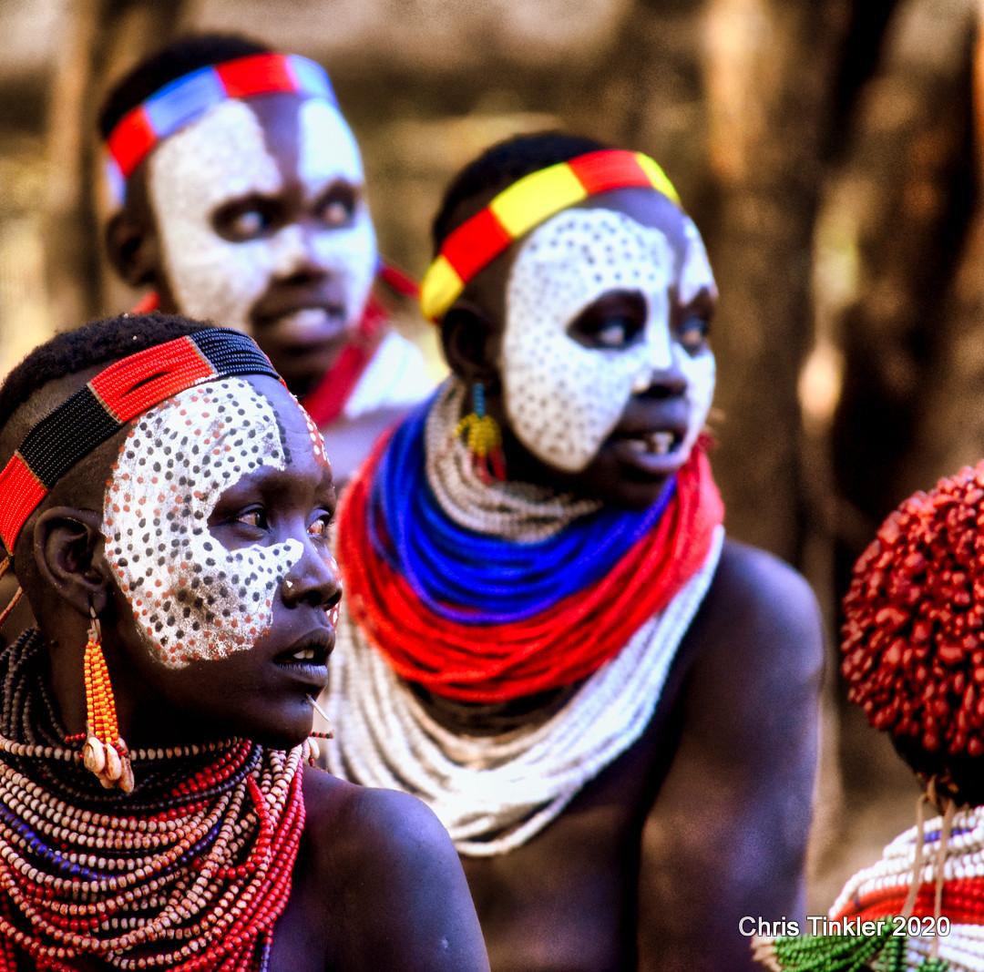 Kara Tribeswomen, Omo Valley, Southern Ethiopia