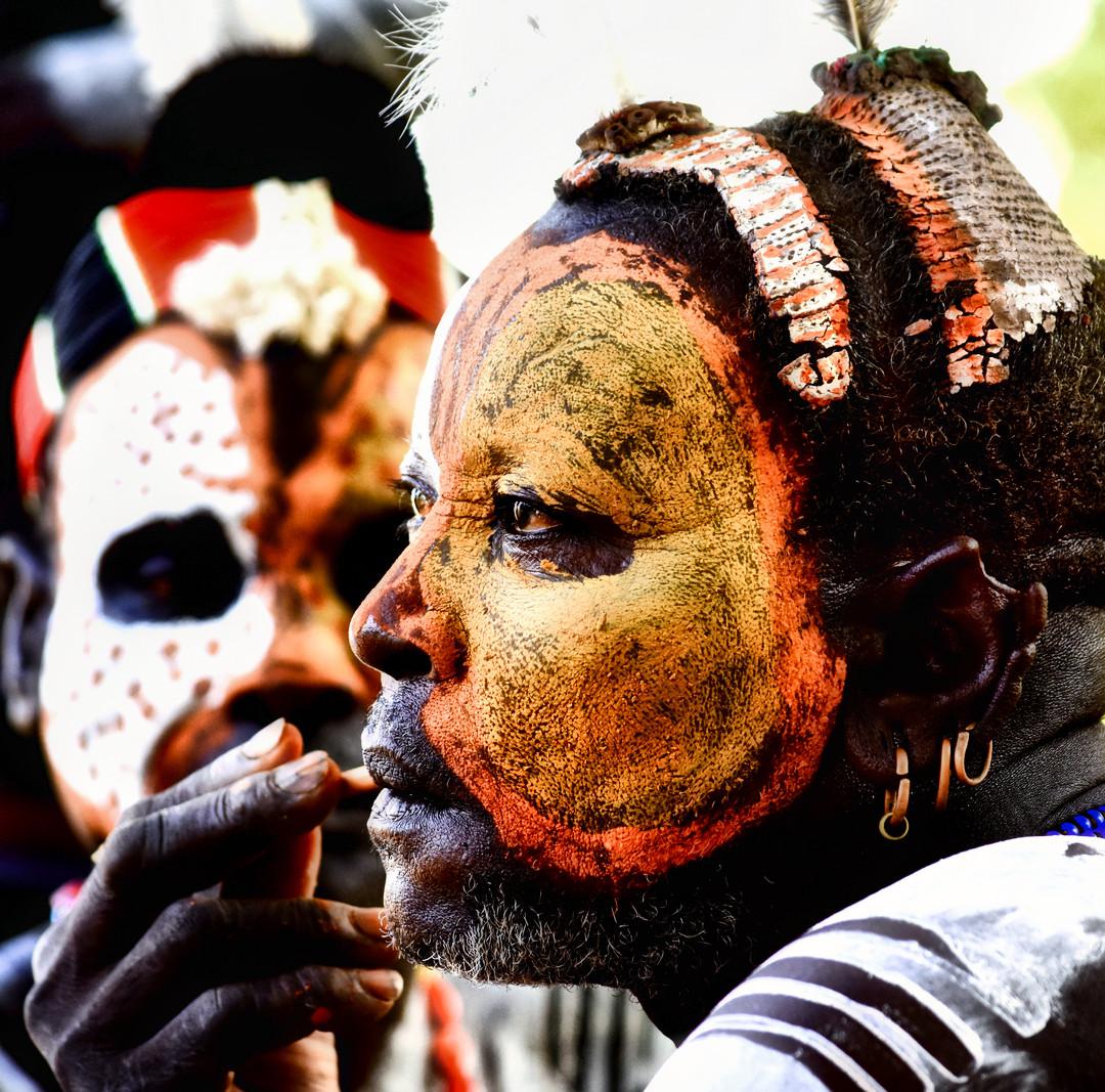 The Kara Tribe, Omo Valley, Southern Ethiopia
