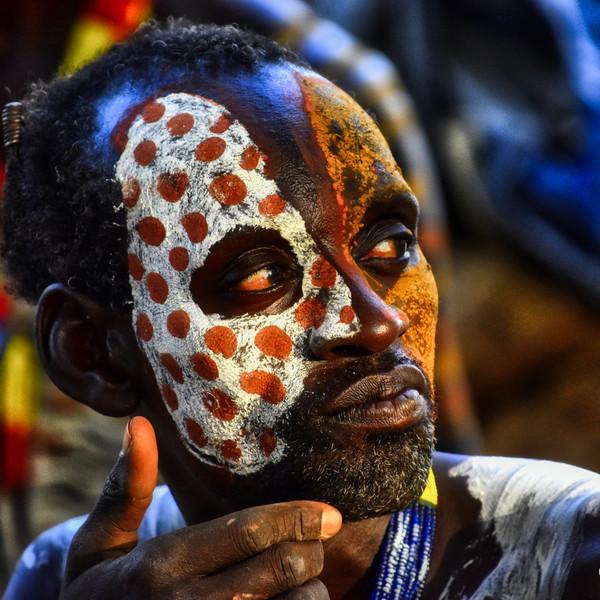 Kara Tribesman, Omo Valley, Southern Ethiopia.