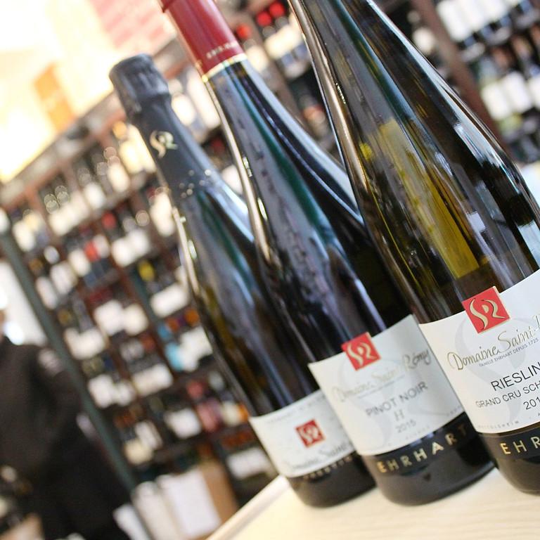 Winemakers dinner med Domaine Saint-Rémy, Alsace