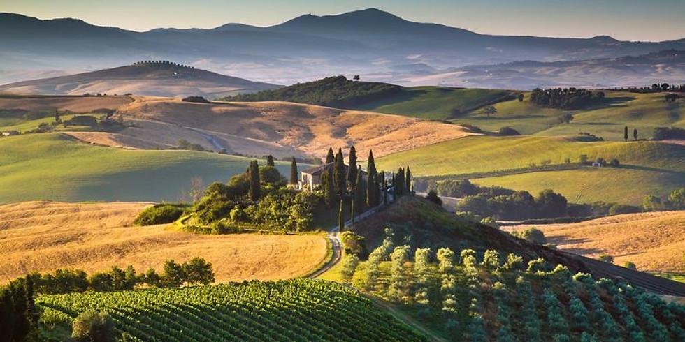 Vinprovning - Ljuvliga Toscana