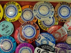 labor union pins