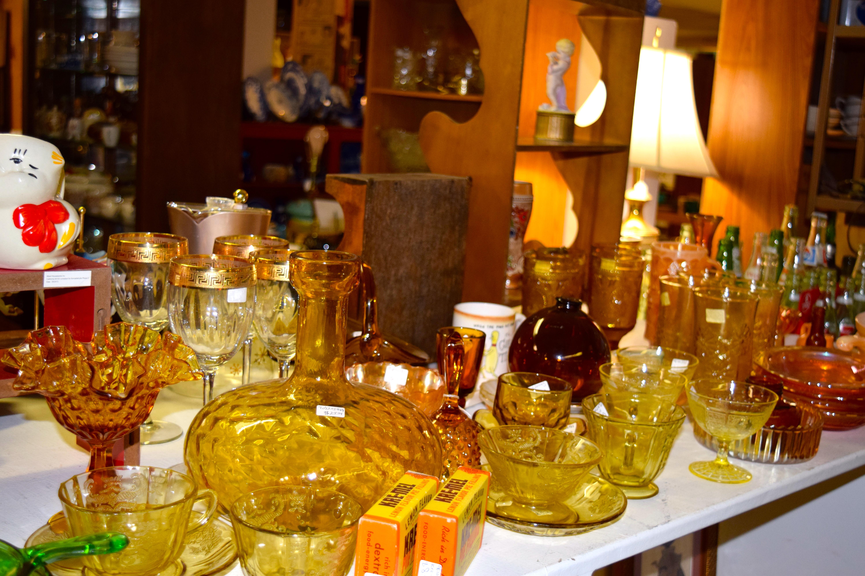 Amber Glass