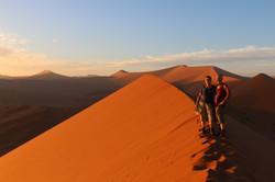 Namibie woestijn