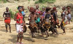 Hamar stam in Ethiopie