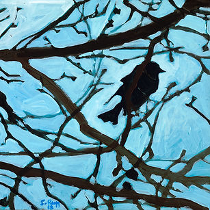 Bird and Branches  II 2018 Shelley Rugg.