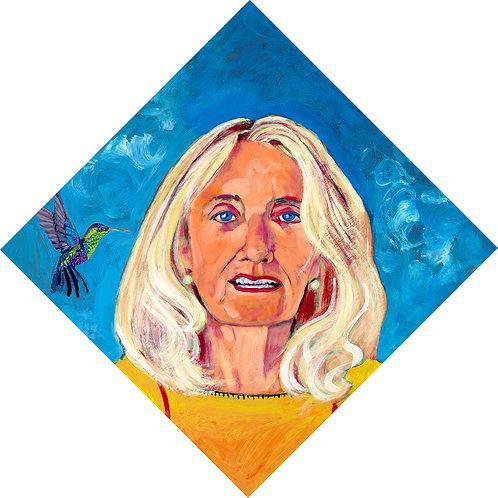 Hummingbird Whispers 'Thank You' to Donna Sheehan
