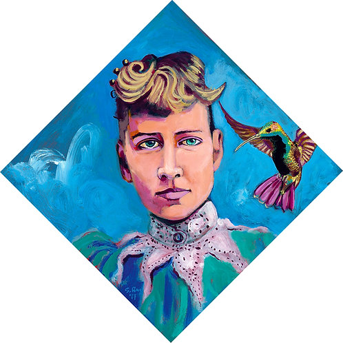 Nellie Bly and the Hummingbird
