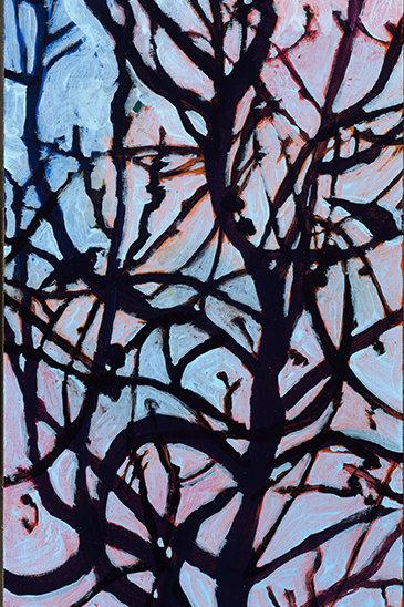 Soft Sky Tree Study