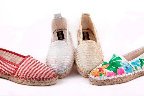 Туфли женские, эспадрильи