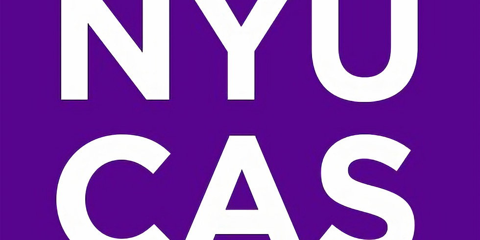 NYU College of Arts and Science (CAS) Undergraduate Research Conference