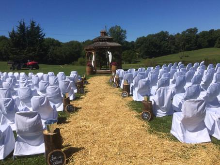 Rustic Missouri Barn Wedding
