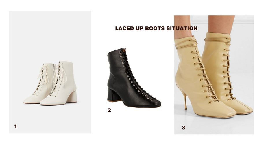 #TRENDALERT // LACE UP ANKLE BOOTS