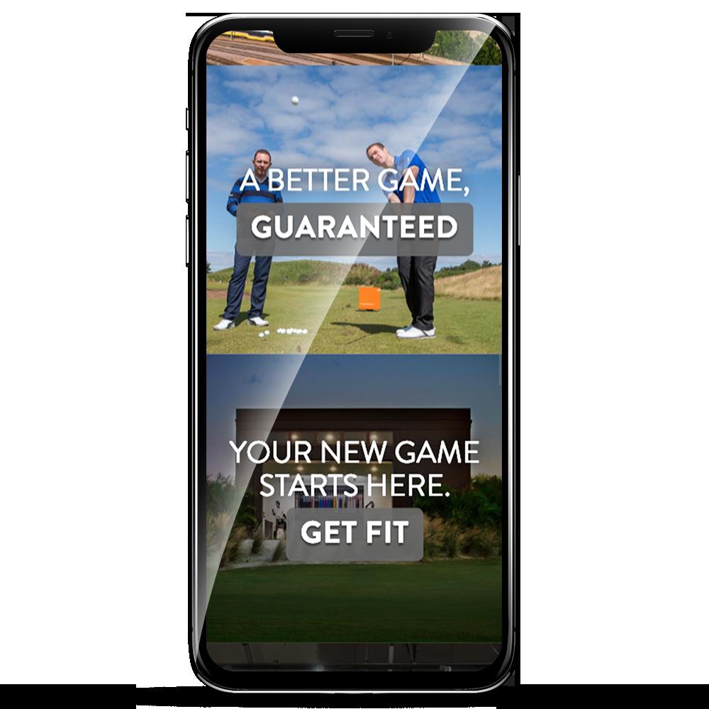 True Spec Golf Example Phone