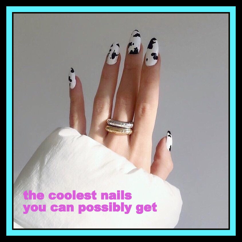 the coolest nail ideas you can possibly get
