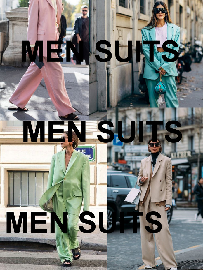 MEN SUITS // #LOUSHKANEWS
