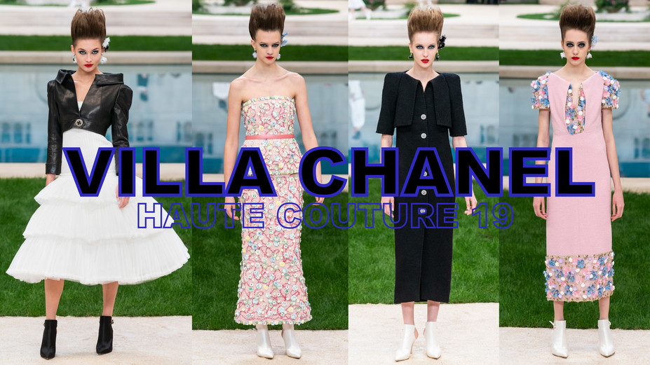 CHANEL COUTURE 19'