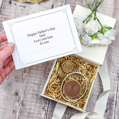 Mr Darcy's Chocolate Pocket Watch Gift Box