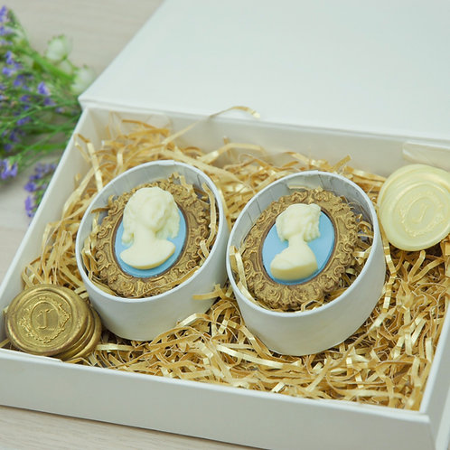 Gift Box Cameo Collection Duo