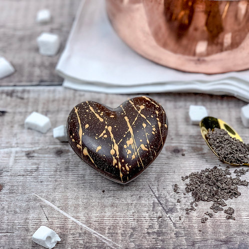 Heart Hot Chocolate Bomb