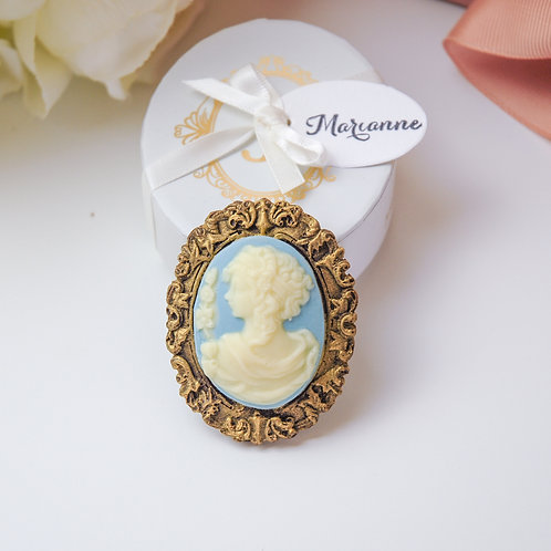 Marianne Cameo Brooch