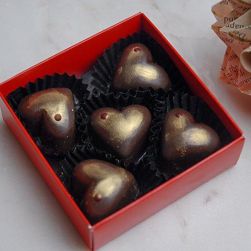 Dark Chocolate Raspberry Crunch
