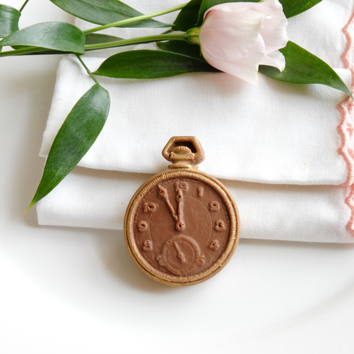 10 Pocket Watch Wedding Favour Bags