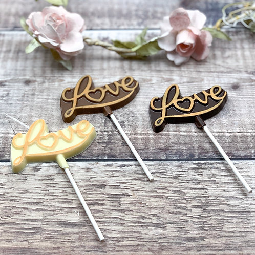 10 Love Lollipop Favours